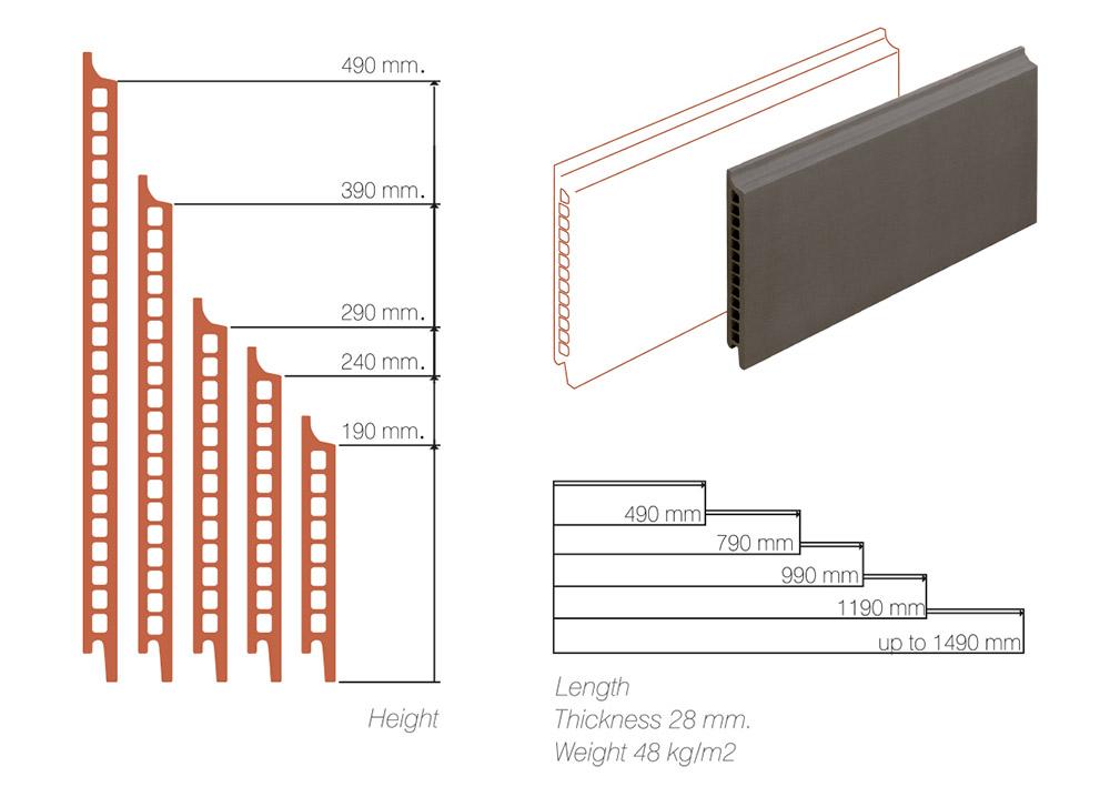 Sisteme de fatada Architon Ceram Double Thick Wall