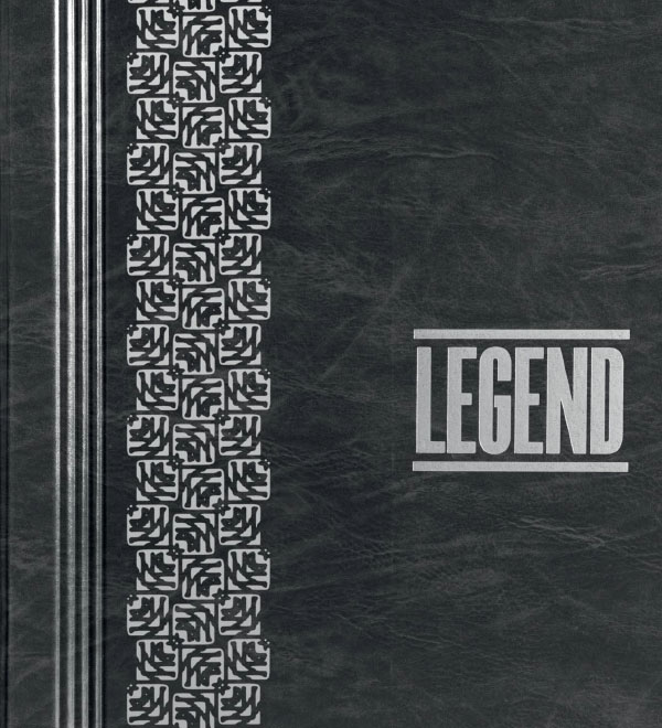 coperta catalog tapet decorativ Legend